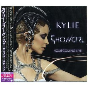 Showgirl: Homecoming Live - Image: Kylie Minogue Showgirl Homecoming Japan