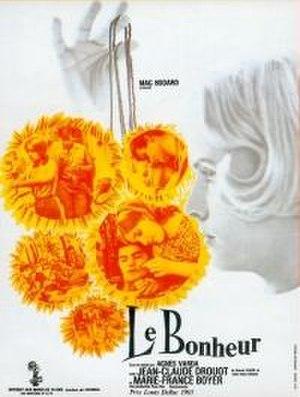 Le Bonheur (1965 film) - Theatrical release poster