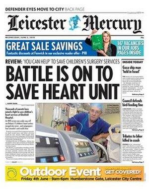 Leicester Mercury - Image: Leicester Mercury June 2010