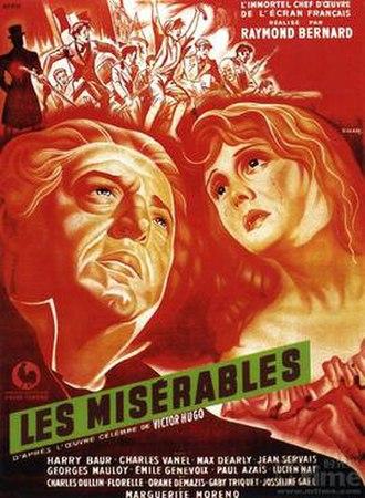 Les Misérables (1934 film) - Theatrical release poster