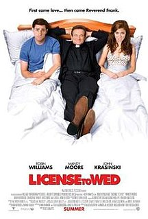 <i>License to Wed</i> 2007 film by Ken Kwapis