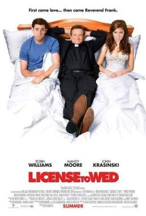 License to Wed - Theatrical release poster