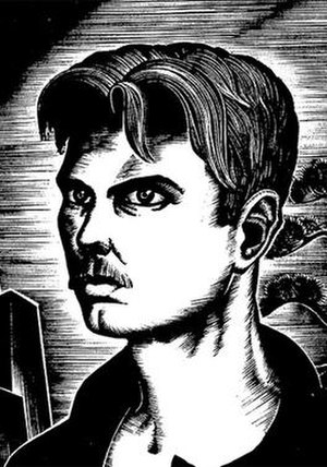 Lynd Ward - 1930 self portrait