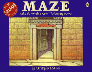 <i>MAZE: Solve the Worlds Most Challenging Puzzle</i> book by Christopher Manson