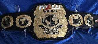 MLW World Heavyweight Championship - The MLW World Heavyweight Championship belt (April 2018 — present)