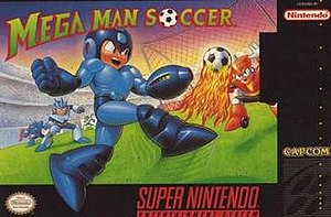 Mega Man Soccer - North American box art