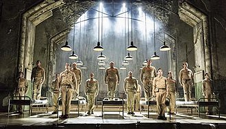 From Here to Eternity the Musical - Male ensemble cast of From Here to Eternity the Musical
