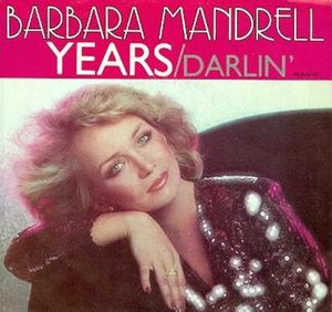 Years (song) - Image: Mandrell Years single