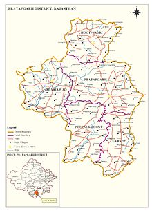 Pratapgarh district, Rajasthan - Wikipedia