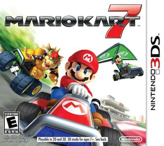 Mario Kart 7 - Packaging artwork released for all territories