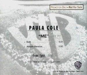 Me (Paula Cole song) - Image: Me Paula Colecoverart