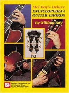 <i>Mel Bays Deluxe Encyclopedia of Guitar Chords</i> book by Mel Bay