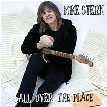 Mike Stern All Over the Place cover