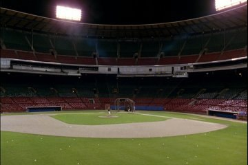 Milwaukee County Stadium in Major League
