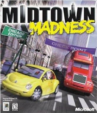 Midtown Madness - Image: Mm 1 boxshot