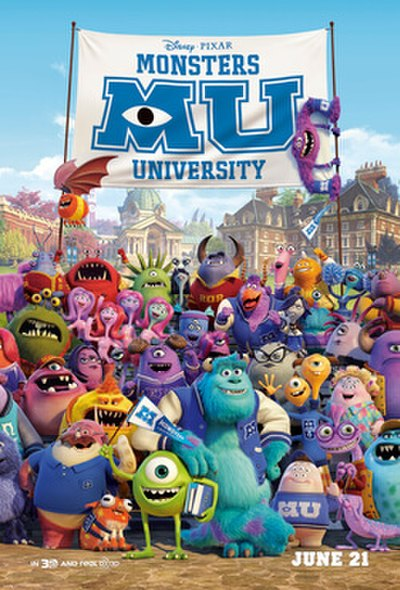 Picture of a movie: Monsters University