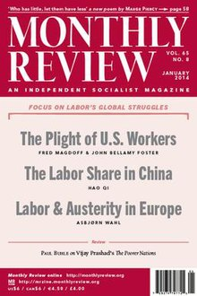 Cover of Monthly Review for January 2014