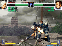 the king of fighters 2002 ultimate match