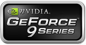 GeForce 9 series - GeForce 9 series logo