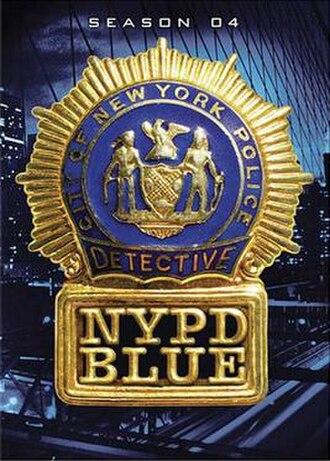 NYPD Blue (season 4) - Season 4 U.S. DVD Cover