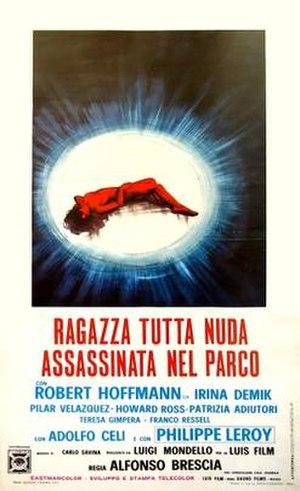 Naked Girl Killed in the Park - Film poster
