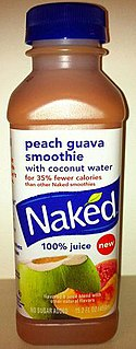 Naked Juice bottle front