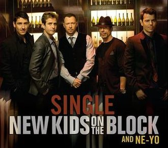 Single (New Kids on the Block and Ne-Yo song) - Image: New Kids On The Block & Ne Yo Single