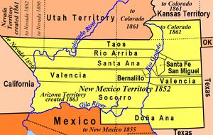 New Mexico Territory - New Mexico Territory, 1852