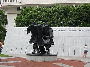 New York State Fallen Firefighters Memorial - Image: New York State Fallen Firefighters Memorial