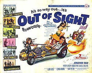 Out of Sight (1966 film) - Film poster by Joseph Smith