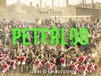 Peterloo (film) - Theatrical release poster