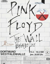 Pink Floyd The Wall Tour Poster 1981.png
