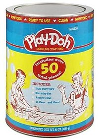 Play Doh Retro Canister