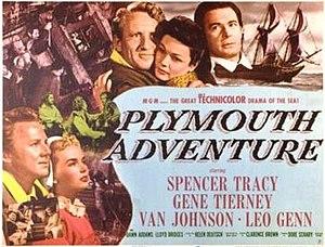 Plymouth Adventure - original film poster