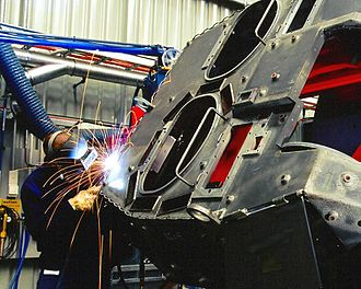 General Dynamics Land Systems–Australia - GDLS-A turret welding