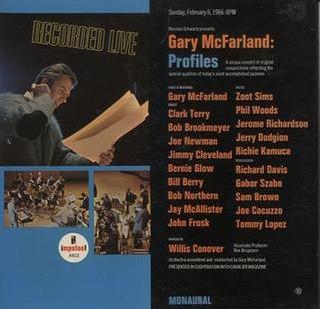 <i>Profiles</i> (Gary McFarland album) 1966 live album by Gary McFarland