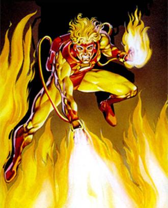 Pyro (Marvel Comics) - St. John Allerdyce (a.k.a. Pyro)