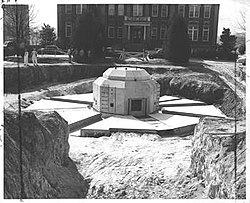 R-1 nuclear reactor, North Carolina State University (ca. 1953).jpg