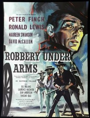 Robbery Under Arms (1957 film) - British theatrical poster