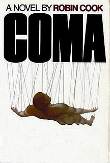 <i>Coma</i> (novel) novel by Robin Cook