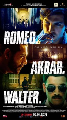 Romeo Akbar Walter Look and Posters