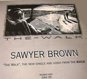 The Walk (Sawyer Brown song) - Image: SB The Walk single