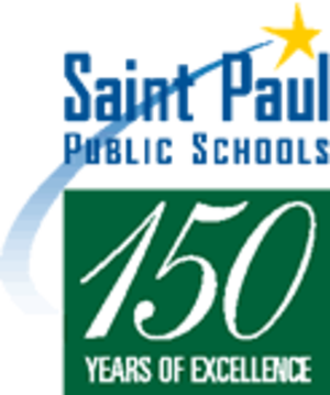 Saint Paul Public Schools - Image: SPPS 150years