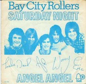 Saturday Night (Bay City Rollers song) - Image: Saturdaynightbaycity rollers