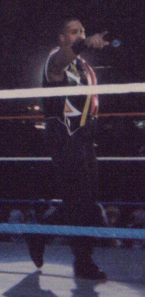 Savio Vega - Vega in the ring in 1995