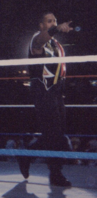Savio Vega - Vega in the ring in 1995