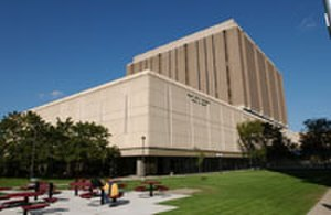 Wayne State University School of Medicine - Scott Hall is the main building that centers the medical education at WSU-SOM