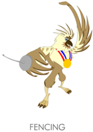 Fencing at the 2005 Southeast Asian Games - Fencing at the 2005 Southeast Asian Games logo