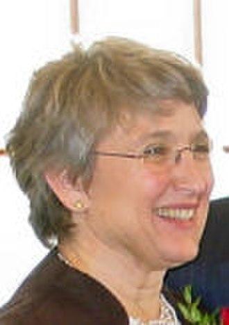 Beth Edmonds - Image: Sen President Beth Edmonds Dec 2006