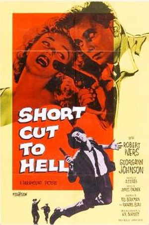 Short Cut to Hell - Theatrical release poster